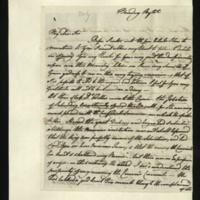 Letter from Princess Augusta to Sir Henry Halford on the King's health, and Dr Willis's conversation with Queen Charlotte