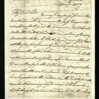 Letter from William, Duke of Clarence to John Bourke 4th Earl of Mayo [?], written at Dunkirk