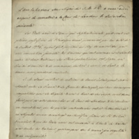 Copy declaration by the French Ambassador, Emmanuel Marie Louis, Marquis de Noailles, to the Court of St James concerning the trade treaty concluded between France and the United States.