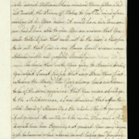 Letter from Queen Charlotte to Prince William