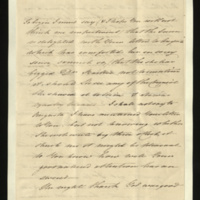 Letter from Princess Elizabeth to Sir Henry Halford on his letter to Princess Augusta, and on the King's health