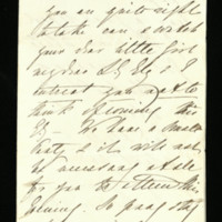 Letter from Queen Adelaide to Lady Ely