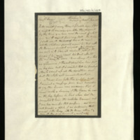 Letter from General Samuel Hawker to Mrs Hawker, written at Windsor Castle, regarding the death of William IV