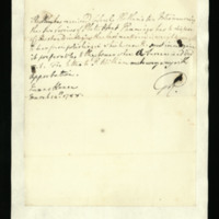 Letter from George III, written at the Queen's House, regarding Prince William