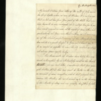 Letter from Queen Charlotte to Prince William, written at Kew