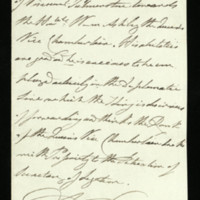 Letter from William IV, to Viscount Palmerston