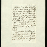 Letter from Queen Adelaide to Lady Ely, written at Bushy House