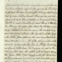 Letter from Queen Charlotte to Princess Mary
