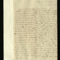 Letter [in French] from the Princess of Wales to Mrs. Clayton [GEO/ADD/28/081], promising to send a reply to a letter received, stating that she cannot 'engage my self soe long before, it can't be till after this turn', remarking on the death of the Duchess of Shrewsbury and suggesting that this was at the hands of Sir J. Shadwell, and hoping that she and Mr Clayton are enjoying being in the country; with transcription in French and English translation [GEO/ADD/28/062].