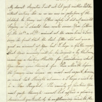 Letter from Queen Charlotte to Prince Augustus