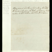 Draft letter from George III to [Lord Howe]