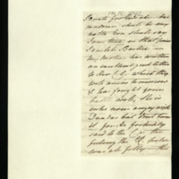 Letter from Princess Elizabeth to Sir Henry Halford on the Queen's letter to her Council; and anger at Dr David Dundas