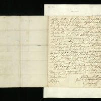 Letter from George III to Prince William, written in Windsor