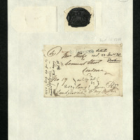 Letter from Elizabeth, Dowager Landgravine of Hesse-Homburg to Mrs Hicks