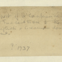 Report on conference concerning the succession to Great Britain and the German dominions