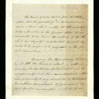 Letter from the Prince of Wales to William Pitt