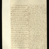 Letter [in French] from the Princess of Wales to Mrs. Clayton [GEO/ADD/28/118] reporting a dispute with Bussier over Princess Amelia's health after Dr Stegerthal had said that she had a swelling which prevented her from swallowing, the resulting treatments of infusions and 'palsy drops' in tea,  Princess Amelia's decision to 'submit to the incision to day or to morrow', the disagreements with Drs Hans and Bussier over bleeding, and the Princess of Wales's conviction that 'your freind' [sic] [presumably Dr Freind] is 'the most capable of any in the world to give advice'; with transcription in French and English translation [GEO/ADD/28/013].