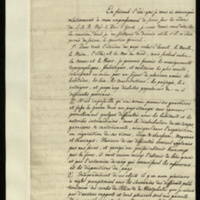Letter from Count Ferdinand von Waldstein to General Jacob de Budé detailing various means by which he could be of assistance to the British military and the Duke of York as his adjutant, and where he could be most helpful.