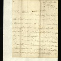 Letter from William, Duke of Clarence to Lady Mayo, written at King's Row[?]