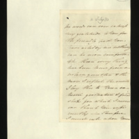 Letter from Princess Elizabeth to Sir Henry Halford on her esteem for Halford and on the King having passed a good day