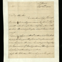 Letter from the Duke of Clarence to Samuel Hawker, written at St James's