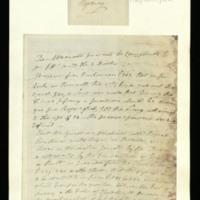 Letter from the Advocate of Scotland to [William Pitt]