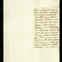 Letter from Princess Elizabeth to Sir Henry Halford on the King's health; and the Queen's anger with Dr [Heberden]