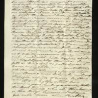 Letter from Princess Mary to [Sir Henry Halford] on the King's illness, and his letter to Princess Augusta
