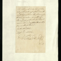 Letter from William IV to Lord John Russell, written at Windsor Castle, regarding Prince George of Cumberland
