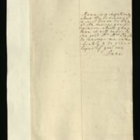 Letter from Anne, Princess Royal, to Mrs Clayton [GEO/ADD/28/69], reporting that the Queen is very anxious to know about 'ye business yt is in ye house to day [sic]' and Mrs Clayton's opinion of it, and asking for an immediate response 'to give hopes if you can; with English transcription [RA GEO/ADD/28/069].