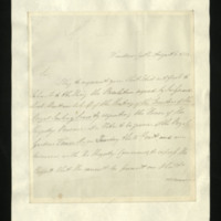 Letter from Sir Herbert Taylor to the Secretary of the Royal Sailing Society, written at Windsor Castle.