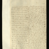 Letter [in French] from the Princess of Wales to Mrs. Clayton [GEO/ADD/28/100], reporting 'we have all the country gentlemen of the tories [sic] with us', naming the counties, etc., in support and noting 'it begins to grow better every moment', asking Mrs Clayton to 'see what can be done with Carteret' and to ask Bishop Neville 'what He expects of the amber club [sic]', and to tell her friend 'this is the time when He may shew the love that he has for his country'; with transcription in French and English translation [GEO/ADD/28/048].