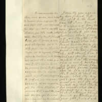 Letter [in French] from the Princess of Wales to Mrs. Clayton [GEO/ADD/28/108], reporting that the Prince [of Wales, presumably] has heard that if the Bill passes the lower house 'they will attack him, & perhaps soe [sic] far as to exclude him the crown', remarking on the composition of the House of Lords and on Thomas Broderick's opinion that there are some in the lower house who are 'not Walpolists', asking Mrs Clayton to send Dr Clarke, and reporting that the 'head dress' Mrs Clayton has asked for will be sent to her via Geminghen and the nurse; with transcription in French and English translation [GEO/ADD/28/049].