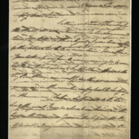 Letter from William, Duke of Clarence to John Bourke 4th Earl of Mayo [?], written in Hanover