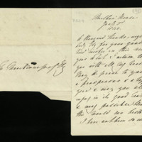 Letter from Queen Adelaide to Lady Ely, written at Marlborough House
