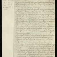Copy of the will of Capt. William Augustus Merrick, with addenda.