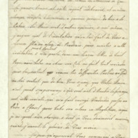 Letter from Queen Charlotte to Madame de la Fite