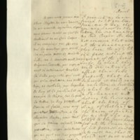 Letter [in French] from the Princess of Wales to Mrs. Clayton [GEO/ADD/28/090], reporting Lord Cooper's and an unnamed other's opinions of the detrimental effect that the passage of the 'ugly bill' would have on Scottish lords' property, the title of King of Scotland and the Union, and the position of the Lower House with respect to the Lords, commenting that she hopes to see Mrs Clayton's necklace tomorrow, and asking her to speak to Sir Joseph [Jekyll, presumably];  with transcription in French and English translation [GEO/ADD/28/052].