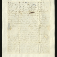 Letter from George FitzClarence to J.W. Daniell