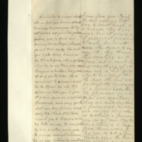 Letter [in French] from the Princess of Wales to Mrs. Clayton [GEO/ADD/28/135] reporting that Princess Amelia 'does nothing but turn & sweat much' and seems very ill, that she has been given 28 grams of 'gascoyne powder' in the hope that the sweating will 'throw out a rash', and that the Prince [of Wales, presumably] has ordered that she is not to be made to vomit, and requesting Mrs Clayton to ask 'your freind' [sic] [presumably Dr Freind] for his advice; with transcription in French and English translation [GEO/ADD/28/015].