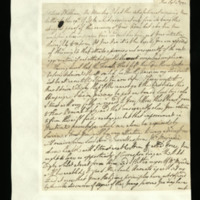 Letter from George III to Prince William, written at Kew