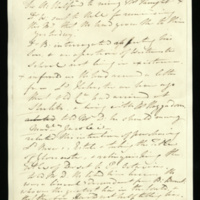 Notes on the King's conversation during his illness