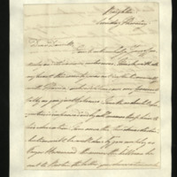 Letter from William, Duke of Clarence to J.W. Daniell, written at Brighton