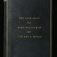 The last days of King William IV