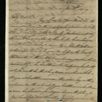 Letter from William, Duke of Clarence to John Bourke 4th Earl of Mayo [?], written at Meiningen