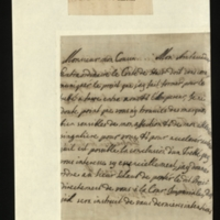 Letter from George I to the Duke of Orleans