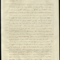 Copy letter from William Pitt to Henry Addington responding to 0860h further to the matter of his possible return to political office, clarifying his position as stated previously.