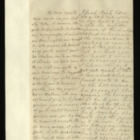 Letter [in French] from the Princess of Wales to Mrs. Clayton [GEO/ADD/28/117] reporting an improvement in Princess Amelia's health, although she has a cold, and successful treatment, commenting that she had discussed the latest recommendations with Princess Amelia, who wished for time to consider them, and referring to a 'handsome dedication' to Sir Isaac Newton and her request for it to be translated into English for her by Dr Clark; with transcription in French and English translation [GEO/ADD/28/008].