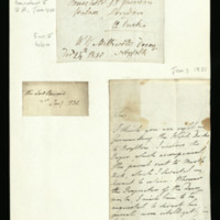 Letter from the Lord Steward to Thomas Marrable, written at St James's Palace