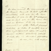 Letters from the King's physicians regarding the commands of the Queen's Council to hold a consultation on the King's condition